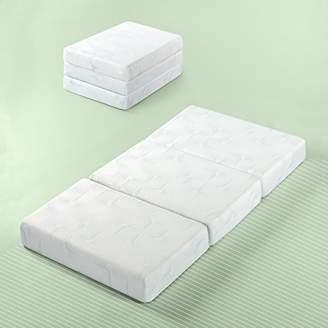 Zinus Gel Memory Foam 5 Inch Tri-Fold Comfort Portable Folding Mattress or Floor Mat
