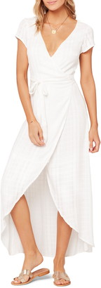 L-Space L Space Goa Cover-Up Maxi Wrap Dress