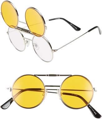 Spitfire Lennon Flip 45mm Round Sunglasses