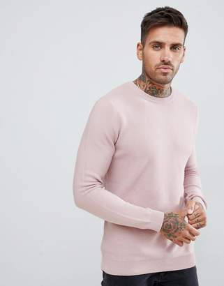 Pull&Bear Sweater In Pink