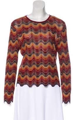 Missoni Knit Long Sleeve Top