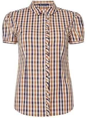 Aquascutum London Melos Shirt With Ruffle Detail