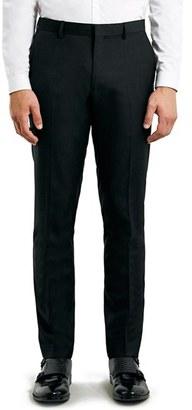 Men's Topman Skinny Fit Black Suit Trousers $75 thestylecure.com