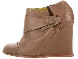 Pollini Wedge Ankle Boots