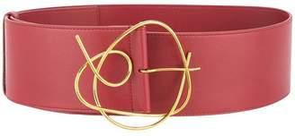 Roksanda sculptural buckle wide belt