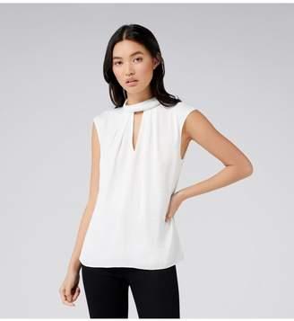 Ever New Eloise keyhole blouse