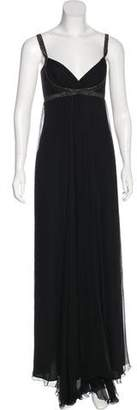 Max Mara Silk Evening Dress