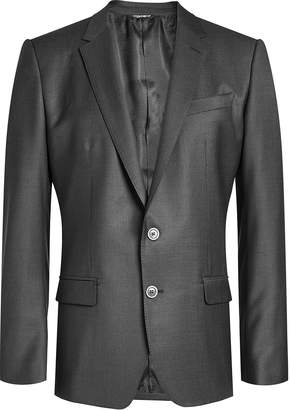 Dolce & Gabbana Wool Blazer with Silk