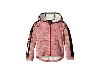 Nike Elite Therma Full Zip Basketball Hoodie (Little Kids)