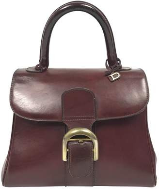 Delvaux Le Brillant Leather Handbag