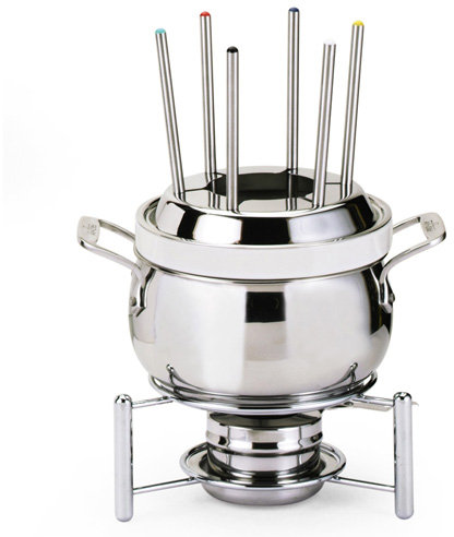 All-Clad Fondue Pot with Porcelain Insert