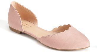 LC Lauren Conrad Twinkle Women's D'Orsay Flats $49.99 thestylecure.com
