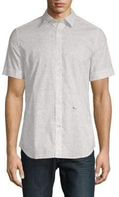 Diesel S-Dove Printed Button-Down Shirt