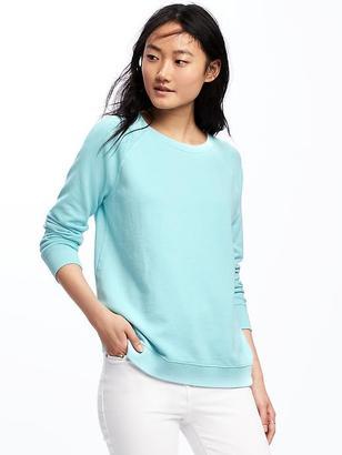Relaxed Vintage Fleece Sweatshirt for Women $26.94 thestylecure.com