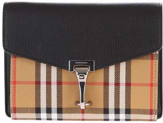 Burberry Multicolored Checked Shoulder Bag