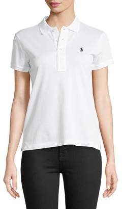 Ralph Lauren Short-Sleeve Knit Polo Shirt