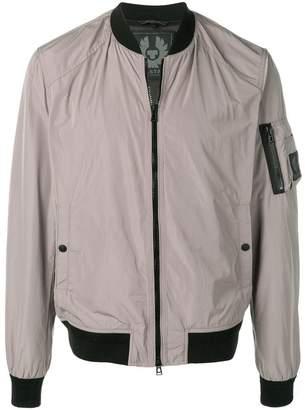 Belstaff Mallison reflective bomber jacket