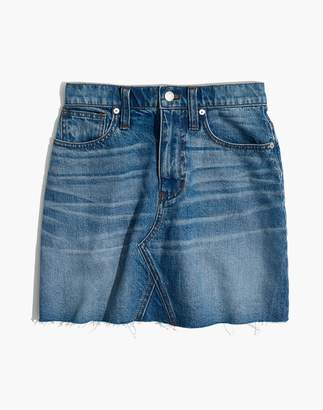 Madewell Denim Frisco Mini Skirt