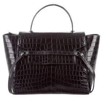 Céline 2015 Crocodile Mini Belt Bag