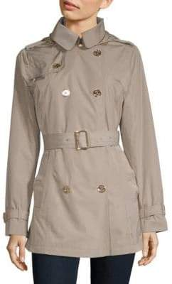 MICHAEL Michael Kors Missy Packable Trench Coat