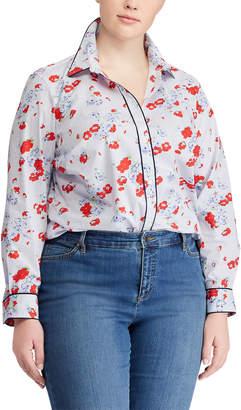 Ralph Lauren Floral-Print Cotton Shirt
