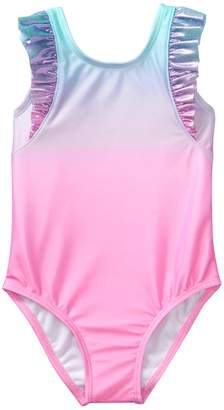 Crazy 8 Crazy8 Toddler Ombre Ruffle 1-Piece Swimsuit