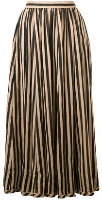 Zimmermann long striped skirt