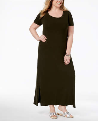 Style&Co. Style & Co Plus Size T-Shirt Maxi Dress, Created for Macy's