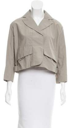 Marni Cropped Double-Breasted Blazer