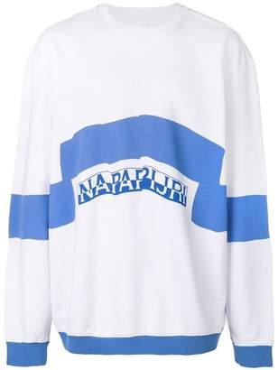 Martine Rose Napa By Napapijri sweatshirt