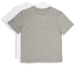 Calvin Klein Boy's Cotton T-Shirt Set/Pack of 2