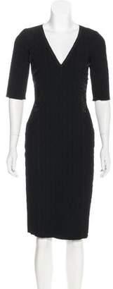 Nina Ricci Textured Knee-Length Dress