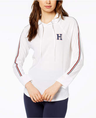 Tommy Hilfiger Logo Hooded Sweatshirt, Created for Macy's