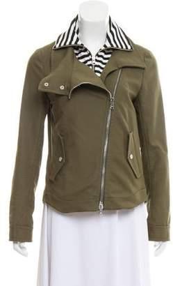 Veronica Beard Denim Biker Jacket
