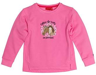Salt&Pepper Salt and Pepper Girl's Sweat Horses The World Sweatshirt