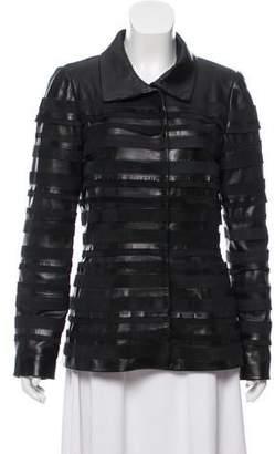 Oscar de la Renta 2009 Leather Jacket