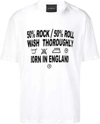 John Richmond care instructions T-shirt
