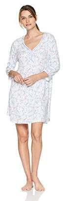Karen Neuburger Women's Nightgown Pajamas Sleepshirt Pj