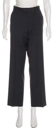Theory Wool-Blend Mid-Rise Pants