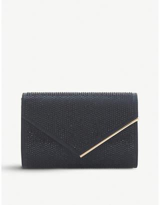Dune Black Evaleen Diamante Studded Clutch Bag