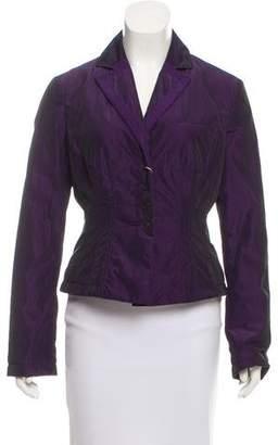 Armani Collezioni Notch-Lapel Evening Jacket w/ Tags