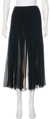 Paul Smith Pleated Midi Skirt w/ Tags $75 thestylecure.com