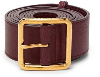 Alexander McQueen Long leather waist belt