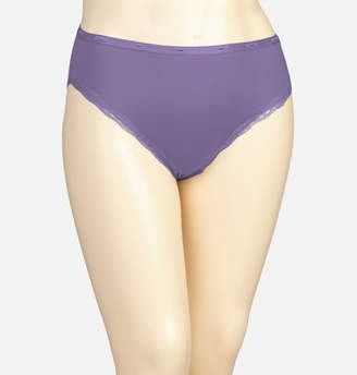 Avenue Hyacinth Cotton Hi Cut Panty with Lace
