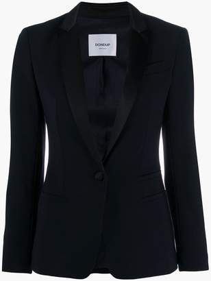 Dondup slim-fit contrast blazer