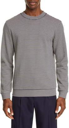 A.P.C. Malo Stripe Crewneck Sweatshirt