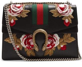 Gucci Dionysus floral-embroidered leather shoulder bag