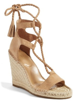 Women's Joie Delilah Espadrille Wedge Sandal $278 thestylecure.com
