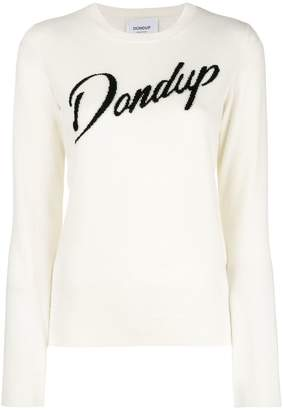 Dondup logo knitted sweater