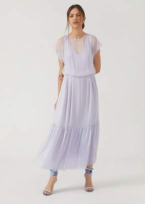 Emporio Armani Silk Chiffon Dress